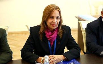 Заместитель Председателя Национальной ассамблеи народной власти (НАНВ) Республики Куба Ани Мария Мари Мачадо