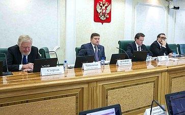 Заседание Комитета Совета Федерации побюджету ифинансовым рынкам