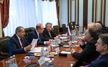 Встреча В.Иконникова сделегацией Болгарии