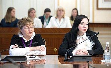 Встреча сУполномоченным при Президенте РФ поправам ребенка ипредседателями координационных советов Уполномоченных поправам ребенка субъектов