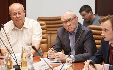 А. Бондарук провел заседание секции радиоэлектронной промышленности Экспертного совета при СФ позаконодательному обеспечению ОПК иВТС
