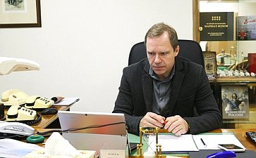 «Круглый стол» Комитета СФ побюджету ифинансовым рынкам натему «Эффективность применения ставок таможенных пошлин иих влияние наэкономическую безопасность РФ»