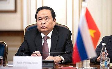 Председатель ЦК Отечественного фронта Вьетнама Чан Тхань Ман