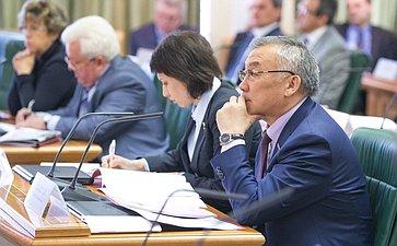 Парламентские слушания Комитета по обороне и безопасности Жамсуев