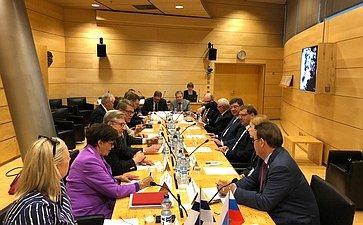 Визит делегации СФ вФинляндскую Республику