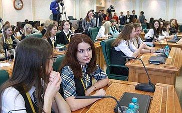 Встреча сучастниками Общероссийского форума «100-бальники– российские интеллектуальные ресурсы»