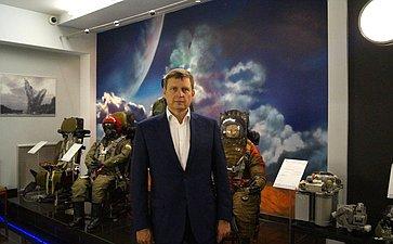 Андрей Епишин посетил научно-производственное предприятие «Звезда» им. Г.И. Северина