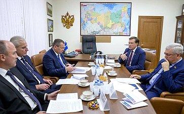Заседание Комиссии Совета законодателей повопросам межбюджетных отношений иналоговому законодательству
