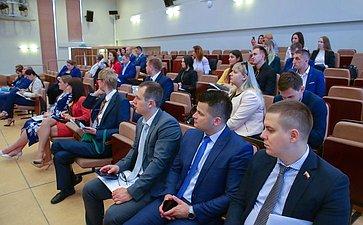 Заседание секции 1 «Реализация совместных молодежных проектов Союзного государства»