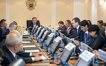 Заседание Экспертного совета при Комитете СФ поэкономической политике посозданию основ цифронизации экономики