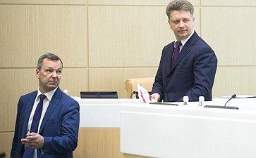 А. Яцкин иМинистр транспорта М. Соколов