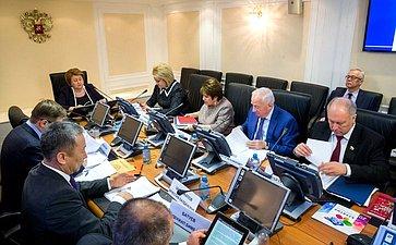 Заседание Комитета СФ понауке, образованию икультуре сучастием представителей органов власти Бурятии