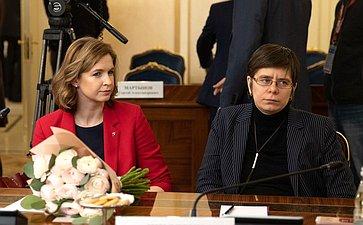 Встреча В. Матвиенко сженщинами– участницами конкурса «Лидеры России»