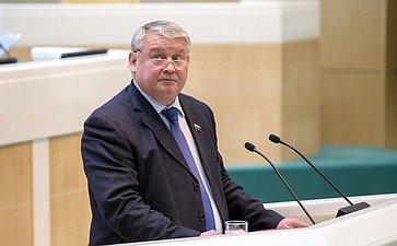 Косарев Николай Валентинович высткпил на389-м заседании Совета Федерации