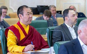 Заседание Совета помежнациональным отношениям ивзаимодействию срелигиозными объединениями