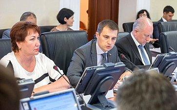 Заседание Комитета СФ поРегламенту иорганизации ипарламентской деятельности