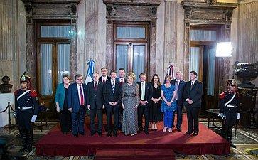 Официальный визит делегации СФ вАргентину