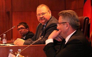 Выездное заседание Комитета Совета Федерации пофедеративному устройству, региональной политике, местному самоуправлению иделам Севера