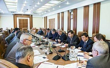 Встреча сенаторов сМинистром поделам Северного Кавказа