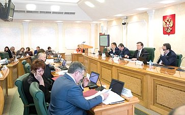 Заседание Комитета побюджету ифинансовым рынкам