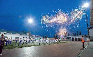 Открытие заключительного этапа VI Спартакиады пенсионеров России