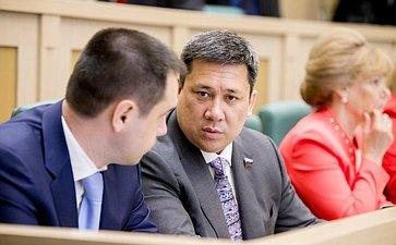 374-е заседание Совета Федерации Полетаев