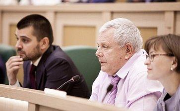 Константин Титов на 358 заседании Совета Федерации