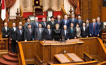 Визит делегации СФ вЯпонию