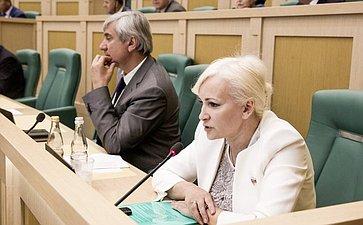 Ольга Ковитиди на 358 заседании Совета Федерации