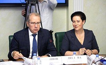 Заседание Комитета СФ поэкономической политике сучастием представителей органов власти Калининградской области