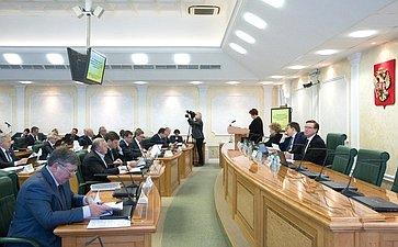 ВСовете Федерации состоялось заседание Комитета СФ побюджету ифинансовым рынкам