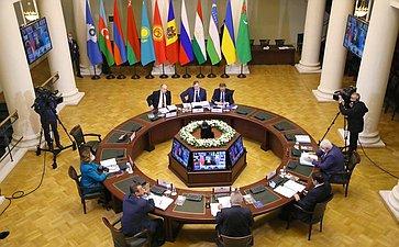 Заседание Совета Межпарламентской ассамблеи государств-участников СНГ
