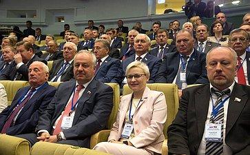 Пленарное заседание Третьего форума регионов Беларуси иРоссии
