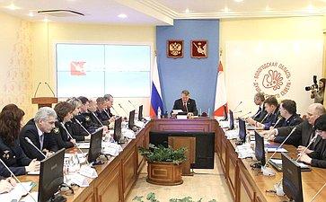 Ю. Воробьев принял участие вобсуждении проблем социального обеспечения сотрудников ФСИН иФССП