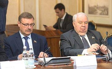 К. Косачев иС. Кисляк