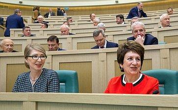 Семинар для руководителей законодательных (представительных) органов государственной власти субъектов РФ– членов Совета законодателей РФ вСовете Федерации