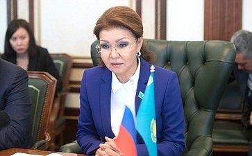 Председатель Комитета помеждународным отношениям, обороне ибезопасности Сената Парламента Республики Казахстан Дарига Назарбаева