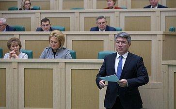 Глава Республики Бурятия А. Цыденов