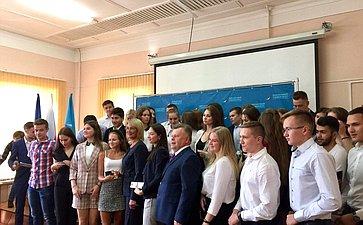 Наталия Косихина посетила Финансовый университет при Правительстве РФ