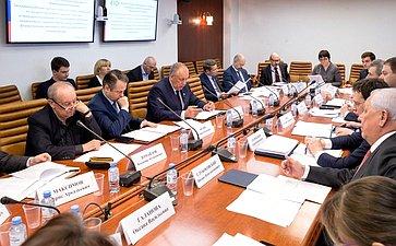 Заседание рабочей группы Комитета СФ поаграрно-продовольственной политике иприродопользованию помониторингу принятия правовых актов вобласти рыболовства иаквакультуры
