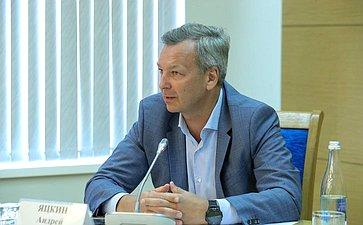 Первый заместитель Председателя СФ Андрей Яцкин входе рабочей поездки врегион посетил город Таганрог
