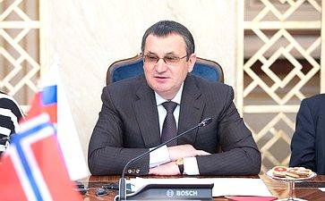 Первый заместитель Председателя Совета Федерации Николай Федоров