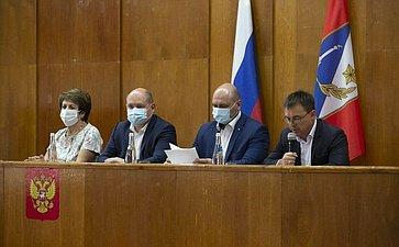 Екатерина Алтабаева приняла участие вустановочной сессии Совета Гагаринского муниципального округа города Севастополя