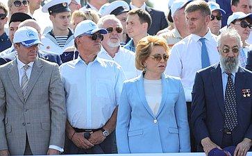 Главный военно-морской парад вСанкт-Петербурге