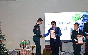 Встреча Юрия Воробьева скадетами ипедагогами образовательного центра «Корабелы Прионежья»