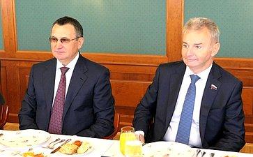 Рабочий визит делегации Совета Федерации воглаве сН. Федоровым вВенгрию
