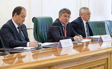 ВСФ состоялось заседание Совета позаконодательному обеспечению оборонно-промышленного комплекса ивоенно-технического сотрудничества натему «Оприоритетных направлениях развития оборонно-промышленного комплекса Российской Федерации: нормативно-правовое