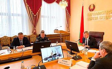 Заседание Комиссии Парламентского Собрания Союза Беларуси иРоссии повопросам экологии, природопользования иликвидации последствий аварий