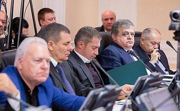 Совместное заседание Комитета Совета Федерации помеждународным делам иКомитета Совета Федерации пообороне ибезопасности