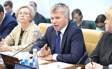 Министр спорта РФ П. Колобков